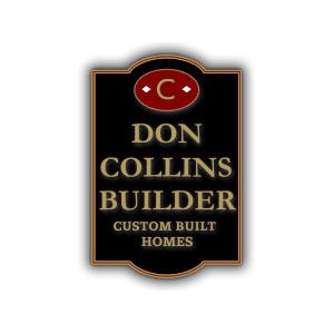 don collins builder custom built homes logo